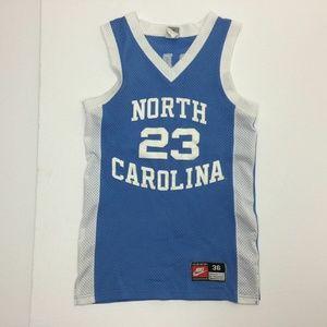 VTG Nike Authentic Michael Jordan Carolina Jersey